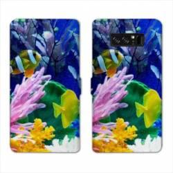 RV Housse cuir portefeuille Samsung Galaxy S10 PLUS Mer