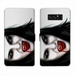 RV Housse cuir portefeuille Samsung Galaxy S10 PLUS Horreur