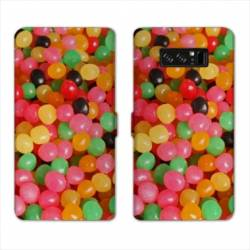 RV Housse cuir portefeuille Samsung Galaxy S10 PLUS Gourmandise