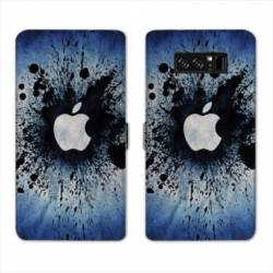RV Housse cuir portefeuille Samsung Galaxy S10 PLUS apple vs android