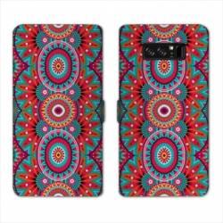 RV Housse cuir portefeuille Samsung Galaxy S10 PLUS Etnic abstrait