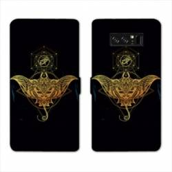 RV Housse cuir portefeuille Samsung Galaxy S10 PLUS Animaux Maori