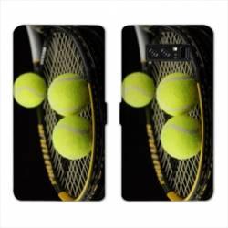 RV Housse cuir portefeuille Samsung Galaxy S10 PLUS Tennis