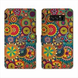 RV Housse cuir portefeuille Samsung Galaxy S10 PLUS Psychedelic