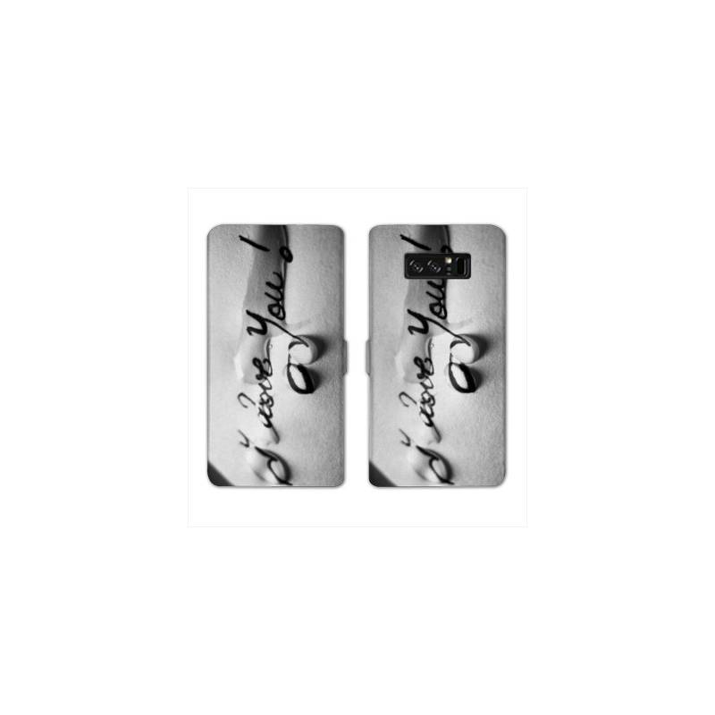 RV Housse cuir portefeuille Samsung Galaxy S10 LITE amour