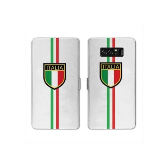 RV Housse cuir portefeuille pour Samsung Galaxy S10e Italie