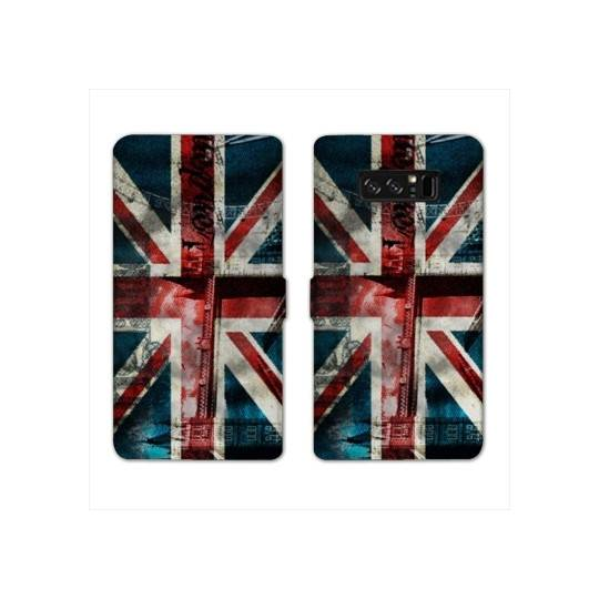 RV Housse cuir portefeuille Samsung Galaxy S10e Angleterre