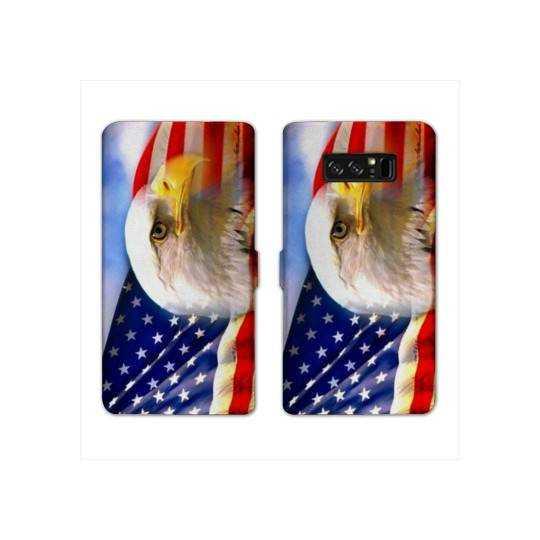 RV Housse cuir portefeuille pour Samsung Galaxy S10e Amerique