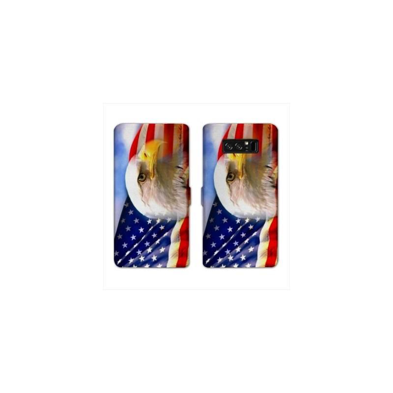 RV Housse cuir portefeuille Samsung Galaxy S10e Amerique