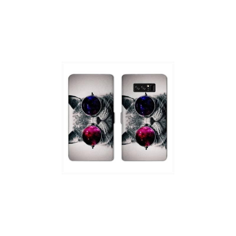 RV Housse cuir portefeuille pour Samsung Galaxy S10e animaux 2