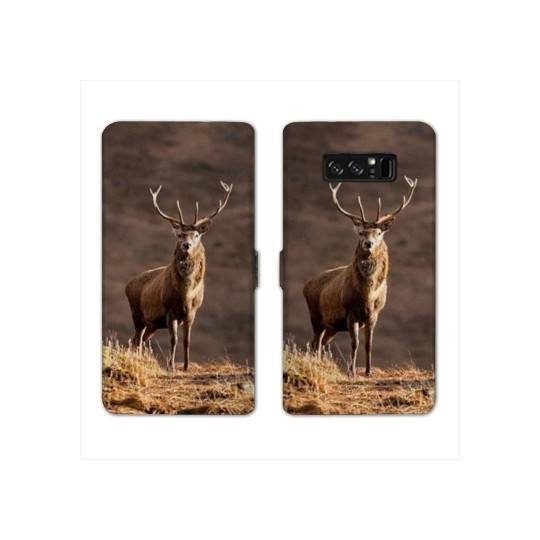 RV Housse cuir portefeuille Samsung Galaxy S10e chasse peche