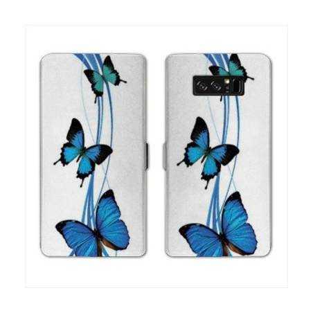 RV Housse cuir portefeuille Samsung Galaxy S10 LITE papillons
