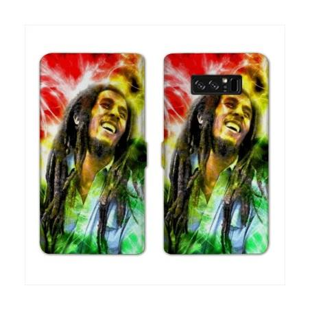 RV Housse cuir portefeuille Samsung Galaxy S10 LITE Bob Marley