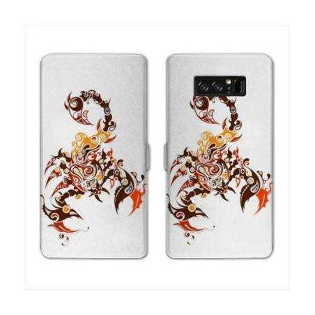 RV Housse cuir portefeuille Samsung Galaxy S10 LITE reptiles