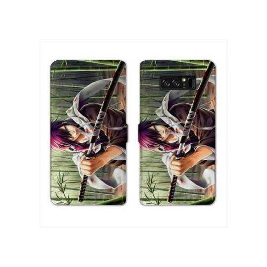 RV Housse cuir portefeuille pour Samsung Galaxy S10e Manga - divers