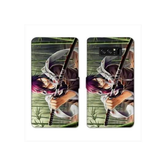 RV Housse cuir portefeuille Samsung Galaxy S10e Manga - divers
