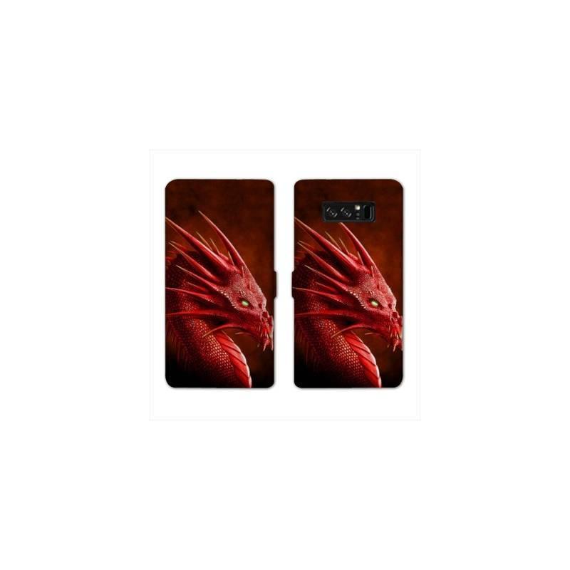 RV Housse cuir portefeuille pour Samsung Galaxy S10e Fantastique