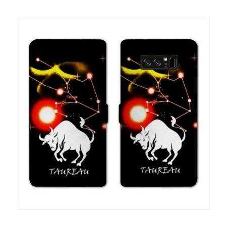 RV Housse cuir portefeuille Samsung Galaxy S10 LITE signe zodiaque