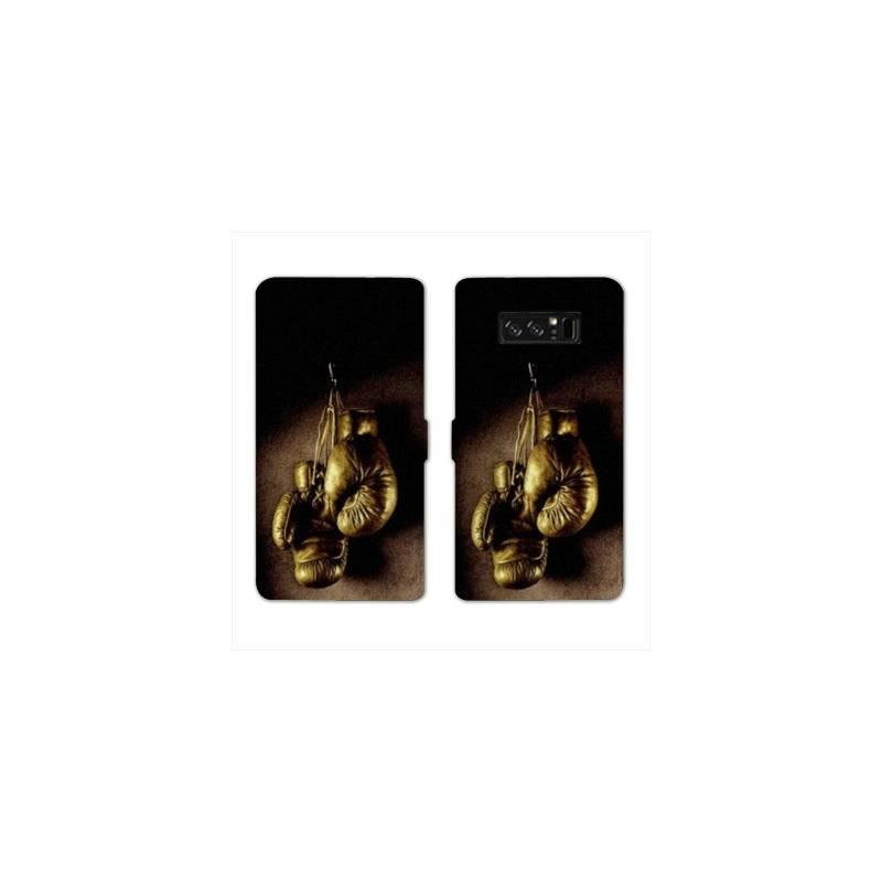 RV Housse cuir portefeuille Samsung Galaxy S10e Sport Combat