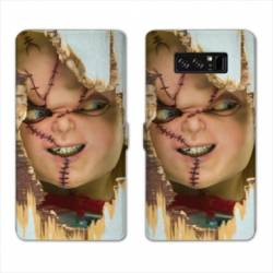 RV Housse cuir portefeuille Samsung Galaxy S10 LITE Horreur