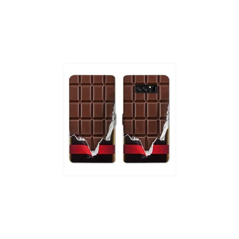 RV Housse cuir portefeuille Samsung Galaxy S10e Trompe oeil