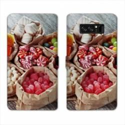 RV Housse cuir portefeuille Samsung Galaxy S10e Gourmandise