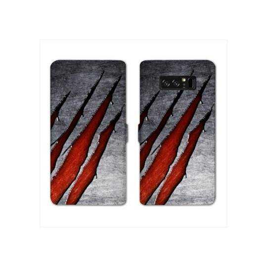 RV Housse cuir portefeuille Samsung Galaxy S10e Texture