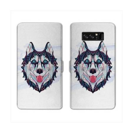 RV Housse cuir portefeuille Samsung Galaxy S10 LITE Animaux Ethniques