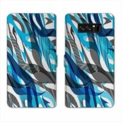 RV Housse cuir portefeuille Samsung Galaxy S10 LITE Etnic abstrait