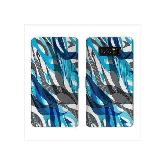 RV Housse cuir portefeuille Samsung Galaxy S10e Etnic abstrait