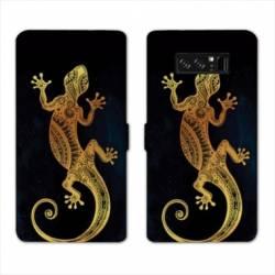 RV Housse cuir portefeuille Samsung Galaxy S10 LITE Animaux Maori