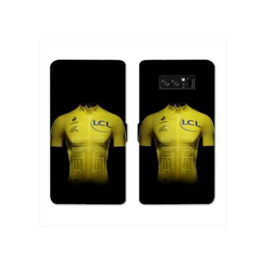 RV Housse cuir portefeuille pour Samsung Galaxy S10e Cyclisme