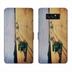RV Housse cuir portefeuille Samsung Galaxy S10 LITE Agriculture