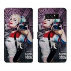 RV Housse cuir portefeuille Samsung Galaxy S10 LITE Harley Quinn
