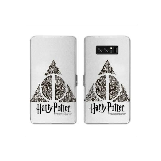 RV Housse cuir portefeuille pour Samsung Galaxy S10e WB License harry potter pattern