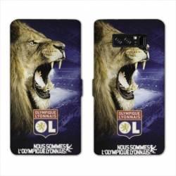 RV Housse cuir portefeuille Samsung Galaxy S10 LITE Licence Olympique Lyonnais - Rage de vaincre