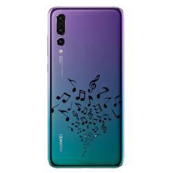 Coque transparente Huawei P30 Pro note musique