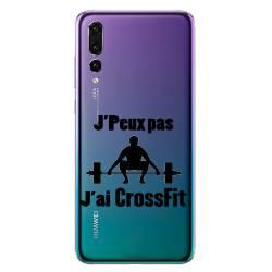 Coque transparente Huawei P30 Pro jpeux pas jai crossfit