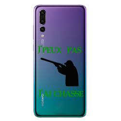 Coque transparente Huawei P30 Pro jpeux pas jai chasse