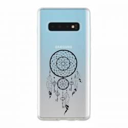 Coque transparente Samsung Galaxy S10e feminine attrape reve cle