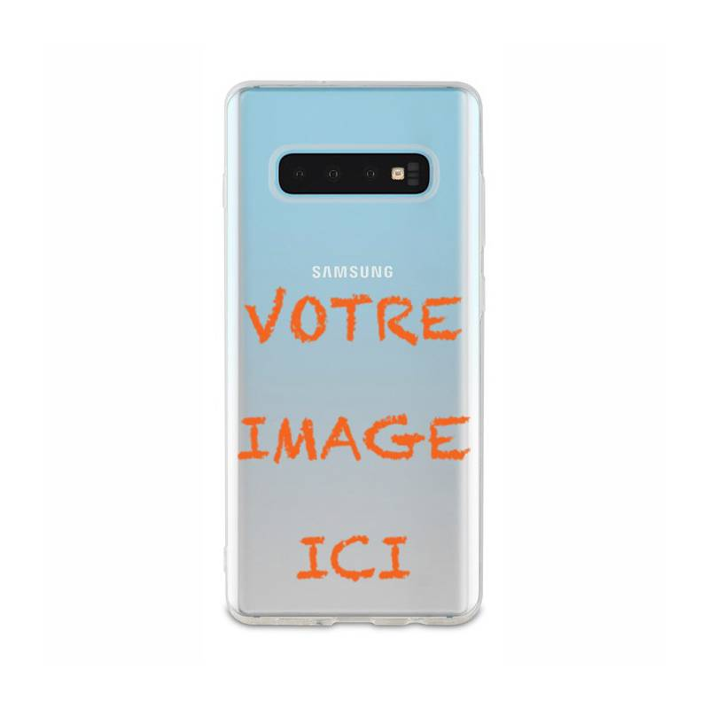 Coque transparente Samsung Galaxy S10e / S10 Lite personnalisee