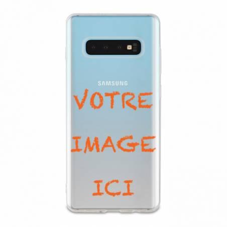 Coque transparente Samsung Galaxy S10 Plus personnalisee