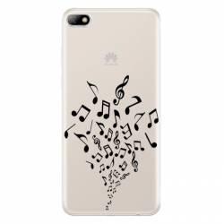 Coque transparente Huawei Y5 (2018) note musique