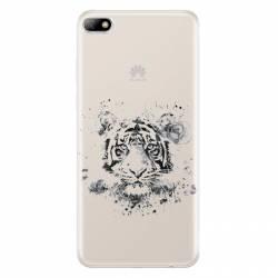 Coque transparente Huawei Y5 (2018) tigre
