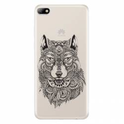 Coque transparente Huawei Y5 (2018) loup