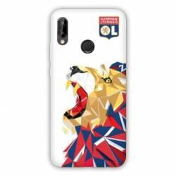 Coque Huawei Honor 10 Lite / P Smart (2019) License Olympique Lyonnais OL - lion color