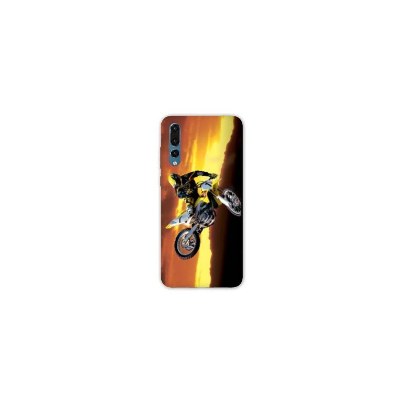 coque huawei p30 moto