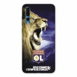 Coque Huawei P30 Licence Olympique Lyonnais - Rage de vaincre
