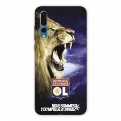 Coque Huawei P30 PRO Licence Olympique Lyonnais - Rage de vaincre