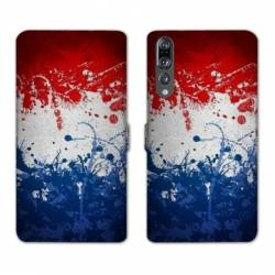 RV Housse cuir portefeuille Huawei P30 PRO France
